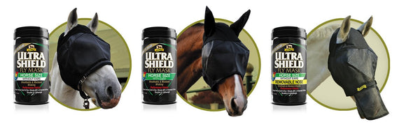 Absorbine UltraShield® Fly Mask With Ears