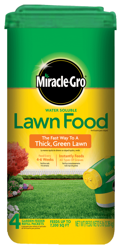 Miracle-Gro® Water Soluble Lawn Food