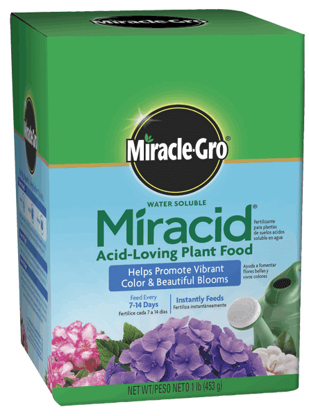 Miracle-Gro® Water Soluble Miracid® Acid-Loving Plant Food