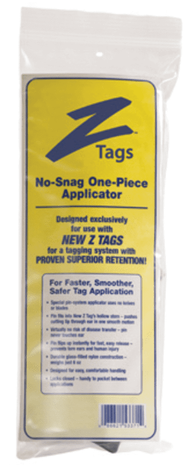 Z Tags Z Tag Applicator