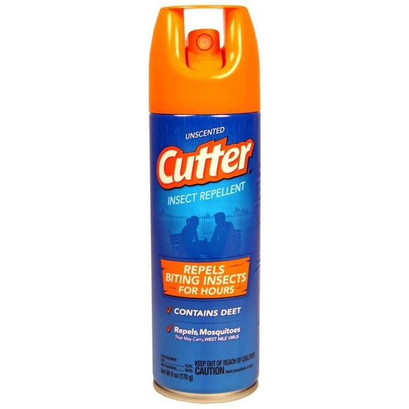 Cutter Unscented Insect Repellent Aerosol