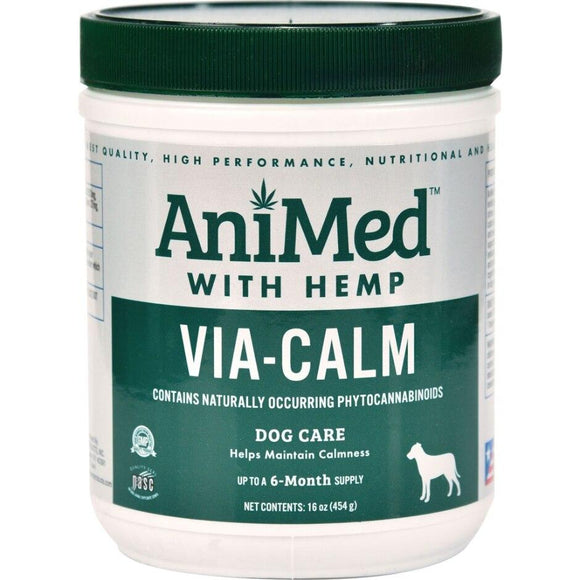 ANIMED VIA-CALM W/HEMP FOR DOGS
