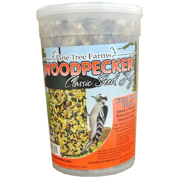 WOODPECKER CLASSIC SEED LOG