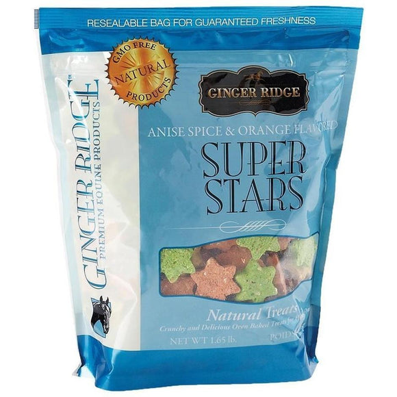 GINGER RIDGE SUPER STARS NATURAL HORSE TREATS