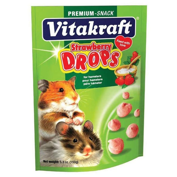 DROPS WITH STRAWBERRY - HAMSTER