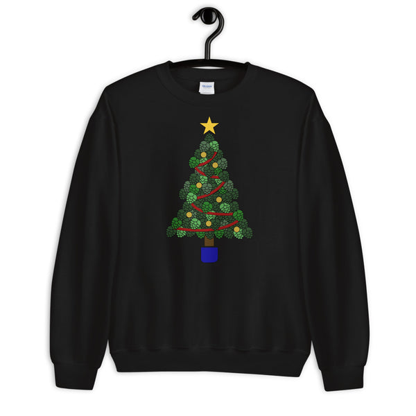 Hoppy Christmas Tree Sweater