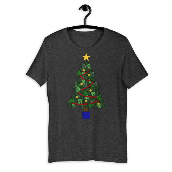 Hoppy Christmas Short-Sleeve Unisex T-Shirt