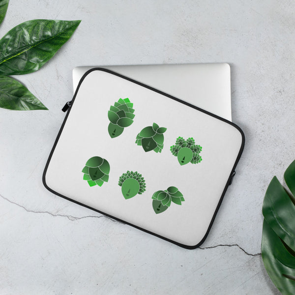 """Hop Heads"" Laptop Sleeve"