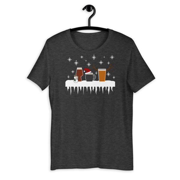 Christmas Beers Short-Sleeve Unisex T-Shirt