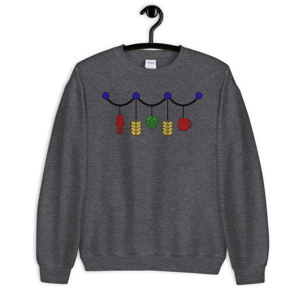 Beer Baubles Unisex Sweatshirt (light)