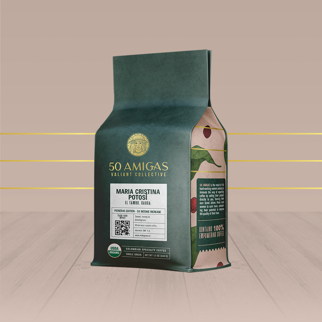 50 Amigas Pioneras Edition | Organic | Single Origin (12oz)