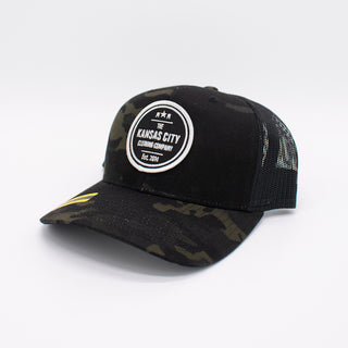 KC Clothing Co. Retro Trucker | Black Patch