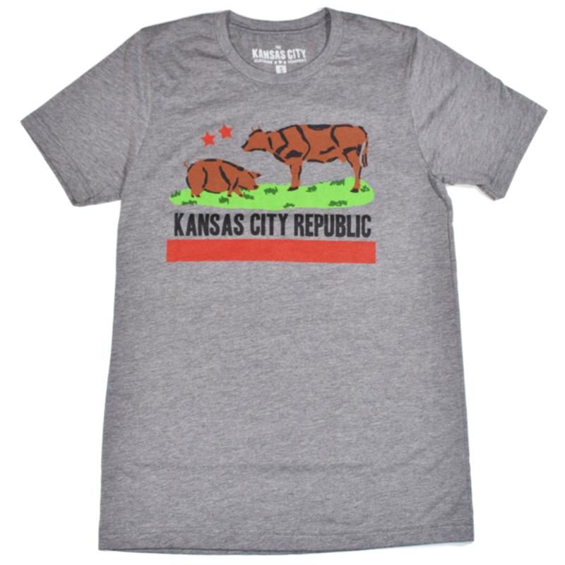 Grey Kansas City Republic t-shirt