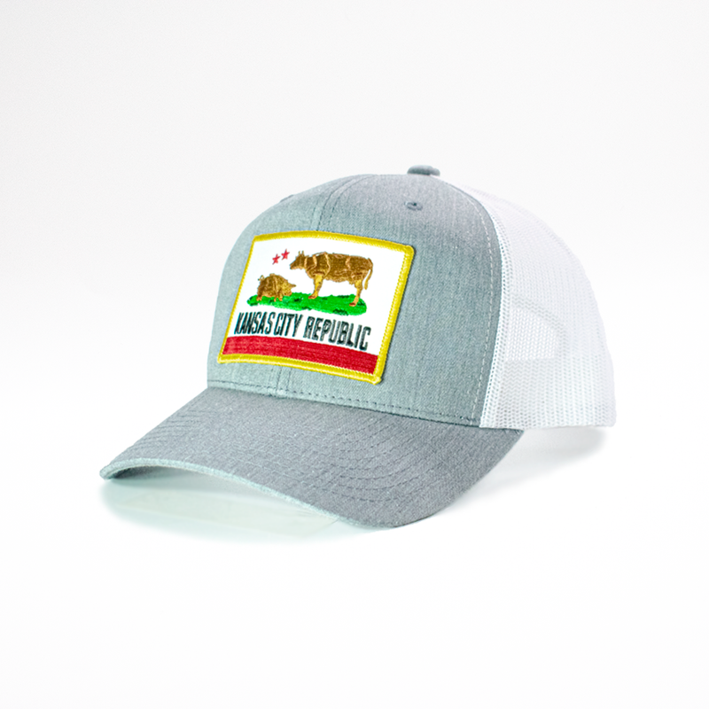 KC Clothing Co. 5-Panel Retro Trucker