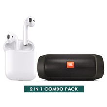 Load image into Gallery viewer, 2 IN 1 COMBO PACK 1 - Bluetooth Speaker & Wireless Earphone i12s