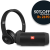 COMBO PACK - COMBO PACK 2 - 2 IN 1 COMBO - Wired Headphone & Bluetooth Speaker