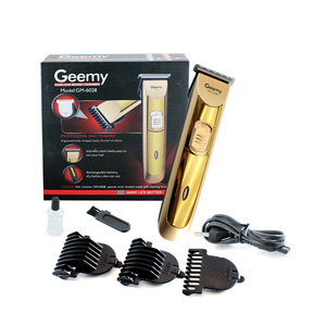 Hair Care - Geemy Rechargeable Hair And Beard Trimmer GM 6028