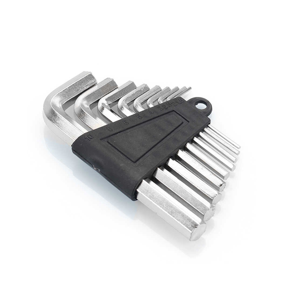 Household - Hex Key Wrench Set 9Pcs