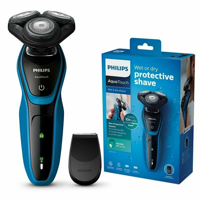 Hair Care - Philips AquaTouch Wet And Dry Comfortcut Electric Shaver – S5050/06