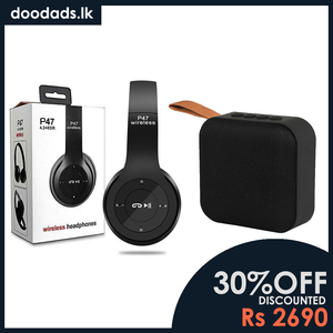 COMBO PACK - 2 IN 1 COMBO PACK 3 - Wireless Headphone & Bluetooth Speaker