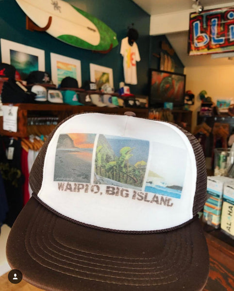 Waipi'o Big Island Trucker Hat