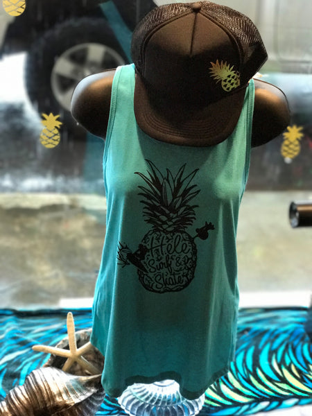 Hele Pineapple Women's Tanks