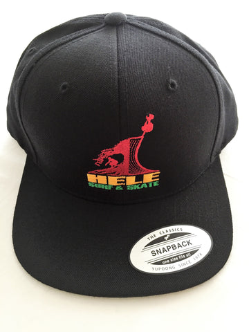 Embroidered Hele OG Rasta Snapback