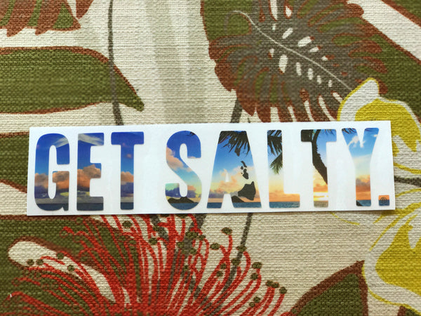 Get Salty Stickers