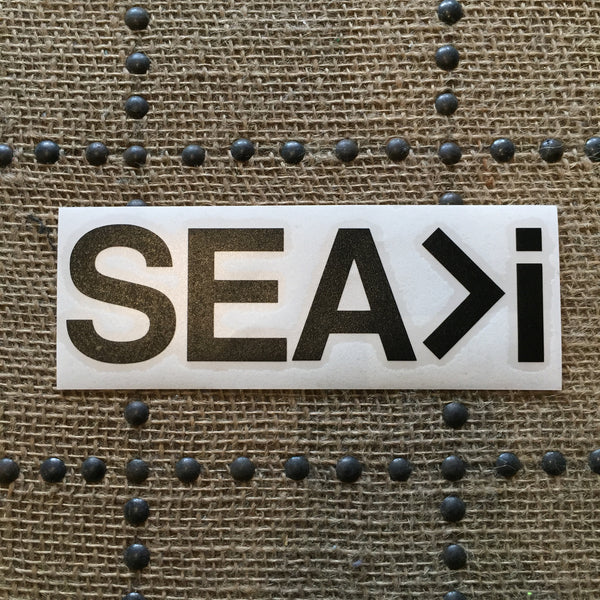 "Get Salty ""Sea>I"" Stickers"