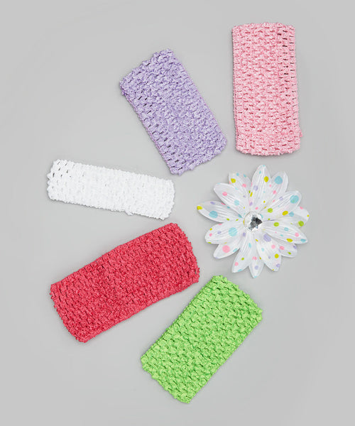 Confetti Lily and Headbands Set