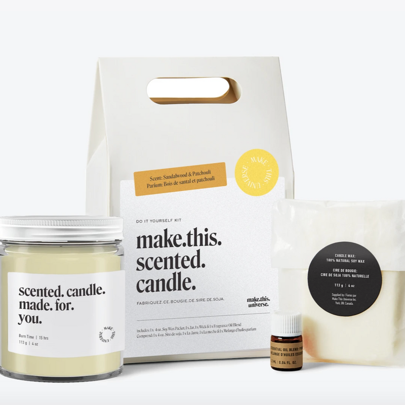 Make This Scented Candle - DIY Candle Making Kit