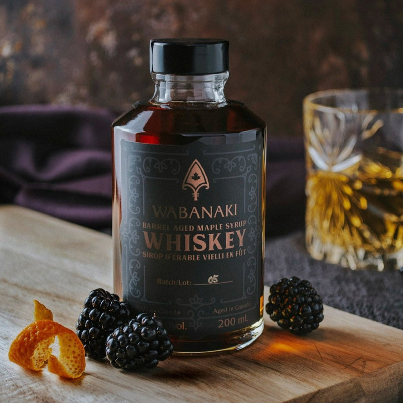 Whiskey | Barrel Aged Maple Syrup