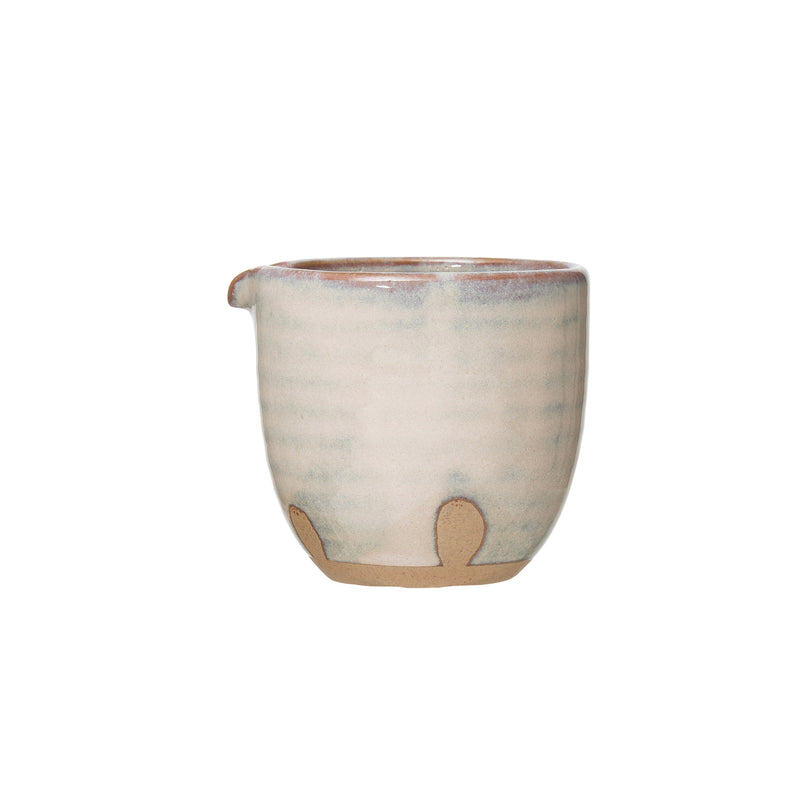 Porcelain Creamer with Glaze