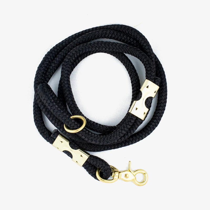 Black Rope Leash