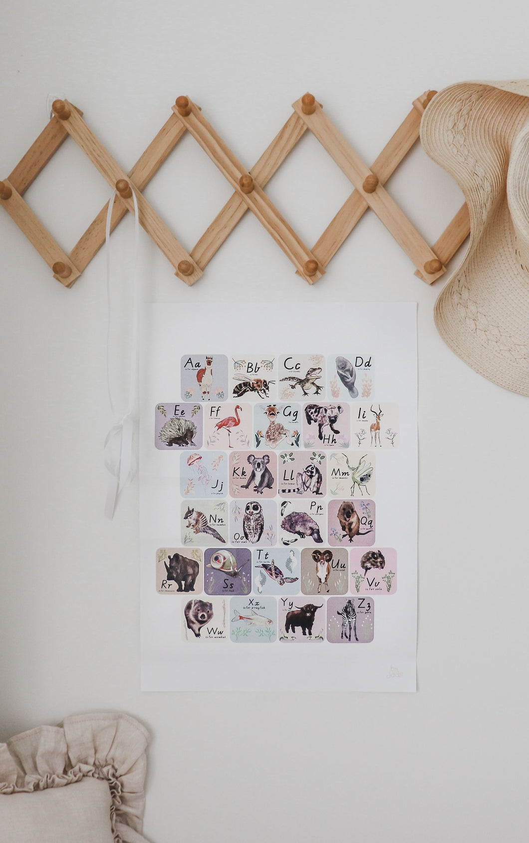 Learn the Alphabet Print *Printed to order