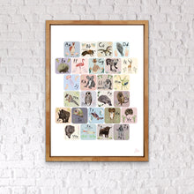 Load image into Gallery viewer, Learn the Alphabet Print *Printed to order