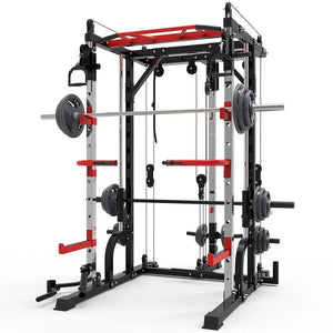 New style gym equipment online squat frame wholesale gym equipment machine gym equipment set Smith squat rack