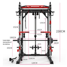 Load image into Gallery viewer, New style gym equipment online squat frame wholesale gym equipment machine gym equipment set Smith squat rack