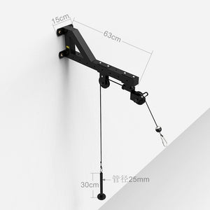 Home Gym Fitness Cable Machine Attachments Workout Triceps Biceps Pulley System Rowing Equipment Drop Down Trainer F2011