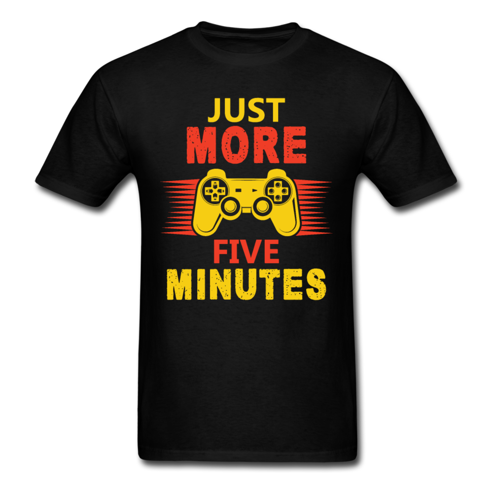 Just More Five Minutes - black