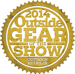 2014 outside gear of the show award logo