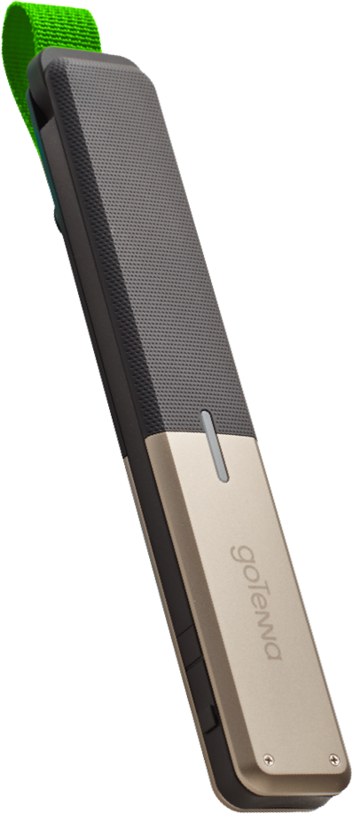 Front view of goTenna Mesh