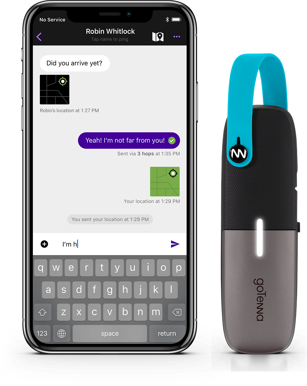 gotenna app functionality