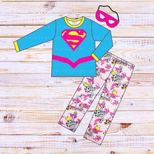 Load image into Gallery viewer, Superhero Loungewear Set-Supergirl