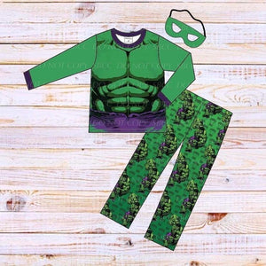 Superhero Loungewear Set-Hulk