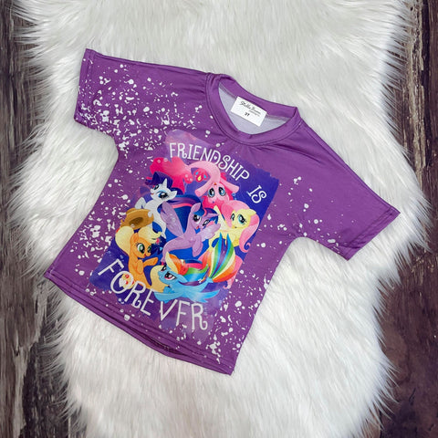 Bleach Splatter T-Shirts-My Little Pony