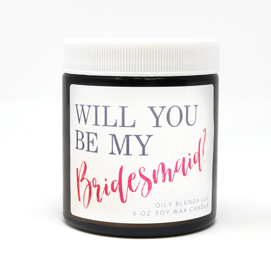 Bridesmaid Candle