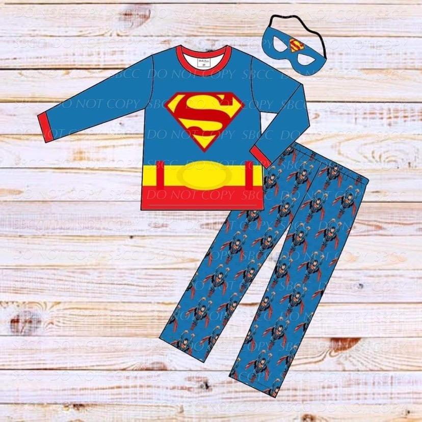 Superhero Loungewear Set-Superman