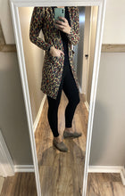Load image into Gallery viewer, Multi Color Leopard Cardigan