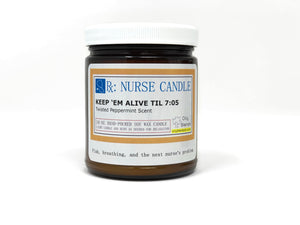 Nurse Candles - 25 Hour Burn Time Soy Wax Candles